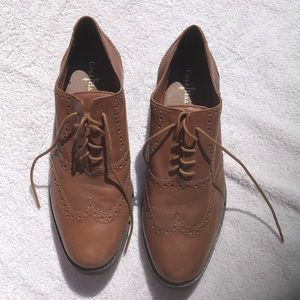 Vintage Cole Haan Brown Leather Oxford
